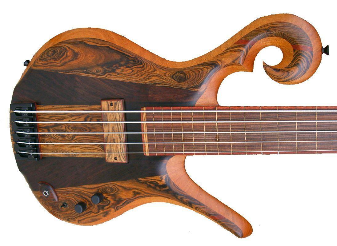 Carl Thompson 5 string fretless