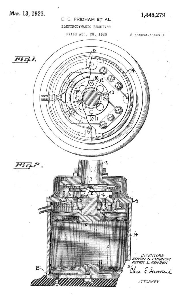 MAGNAVOX LOUDSPEAKER (1911)