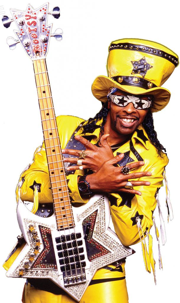 BOOTSY COLLINS SPACE BASS: 5 PICKUP SINGLE COIL J