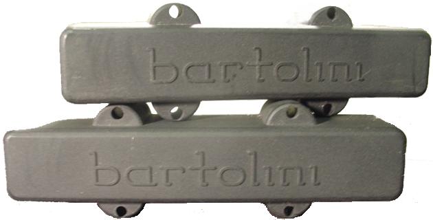 BARTOLINI 4 STRING J-BASS PICKUPS